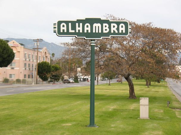 Alhambra, California  Photo: Wikimedia