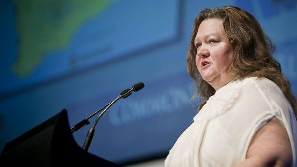 Gina Rinehart, billionaire mining magnate and media investor