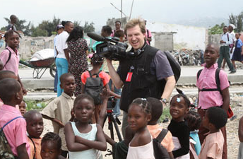 Erik Olsen, New York Times video journalist  photo: Nicholas Kristof