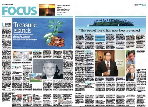 Nicky Hager's Star Times coverage